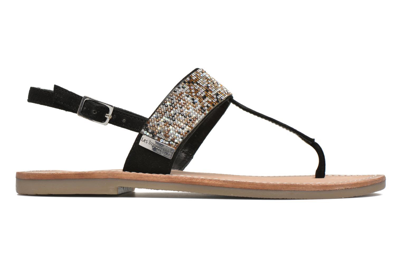 Sandales et nu-pieds Les Tropéziennes par M Belarbi Olga Noir vue derrière