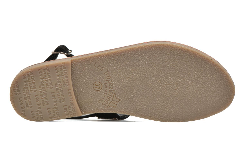 Sandales et nu-pieds Les Tropéziennes par M Belarbi Olga Noir vue haut