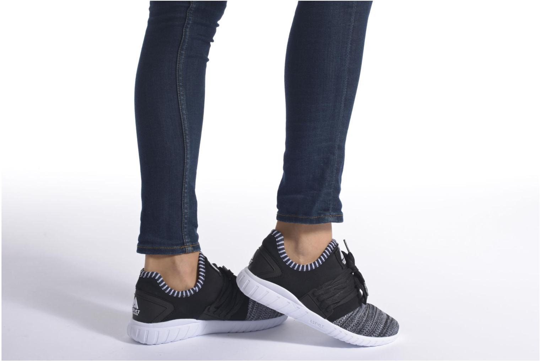 Sneaker Asfvlt Area Low W schwarz ansicht von unten / tasche getragen