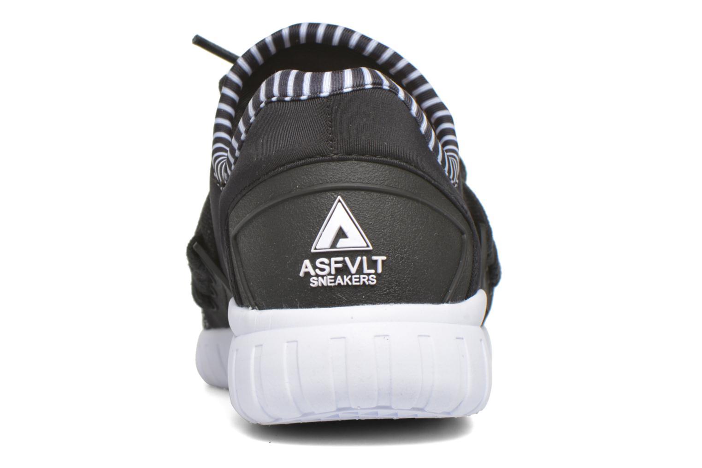 Sneaker Asfvlt Area Low W schwarz ansicht von rechts