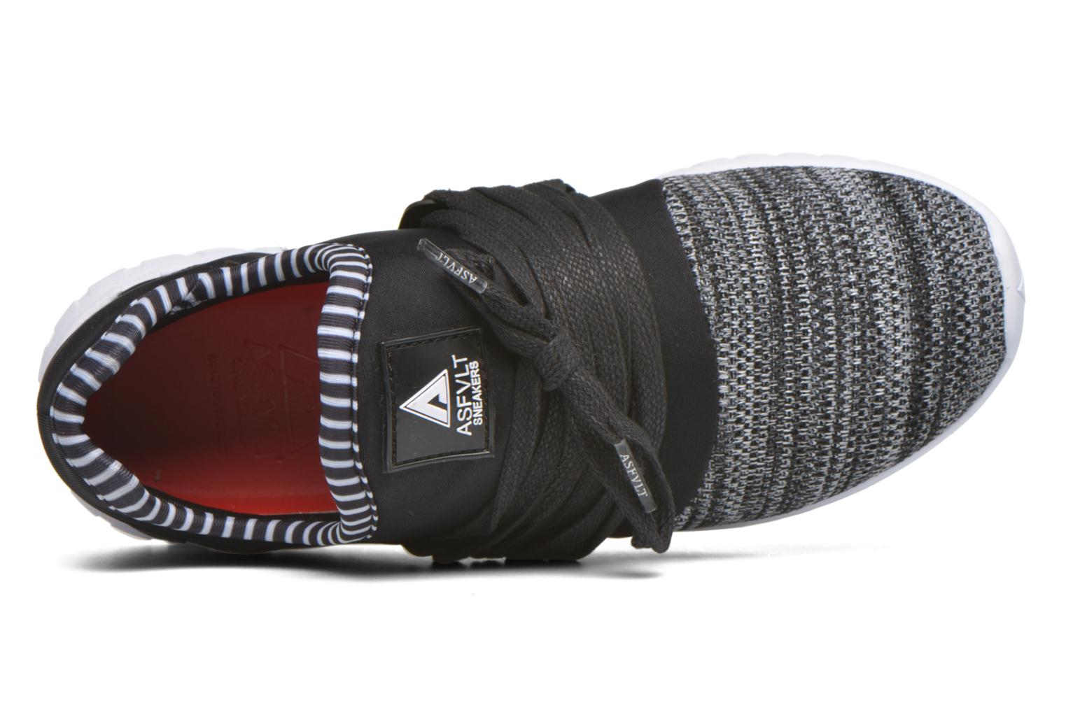 Sneakers Asfvlt Area Low W Nero immagine sinistra