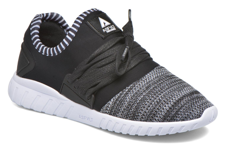 Sneakers Asfvlt Area Low W Zwart detail