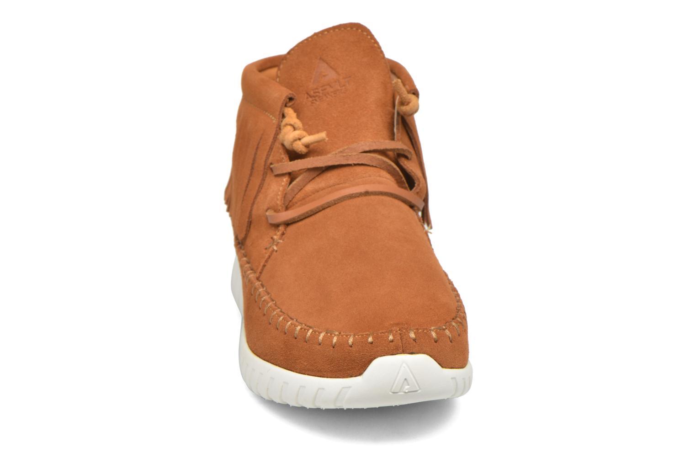 Sneaker Asfvlt Apache braun schuhe getragen