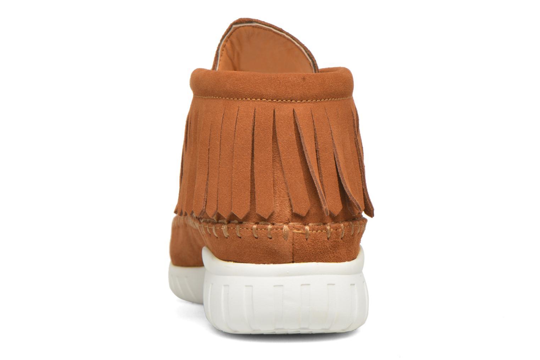 Sneaker Asfvlt Apache braun ansicht von rechts