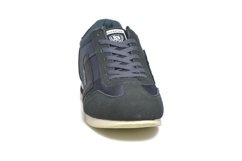 Baskets Redskins Triolo Bleu vue portées chaussures