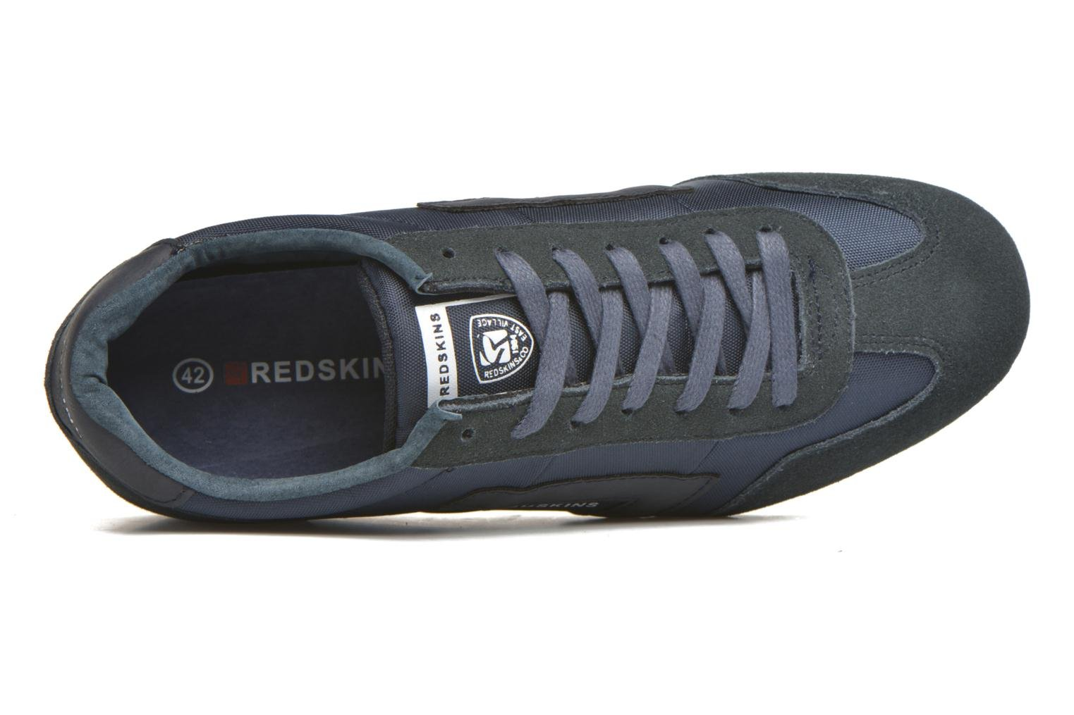Trainers Redskins Triolo Blue view from the left