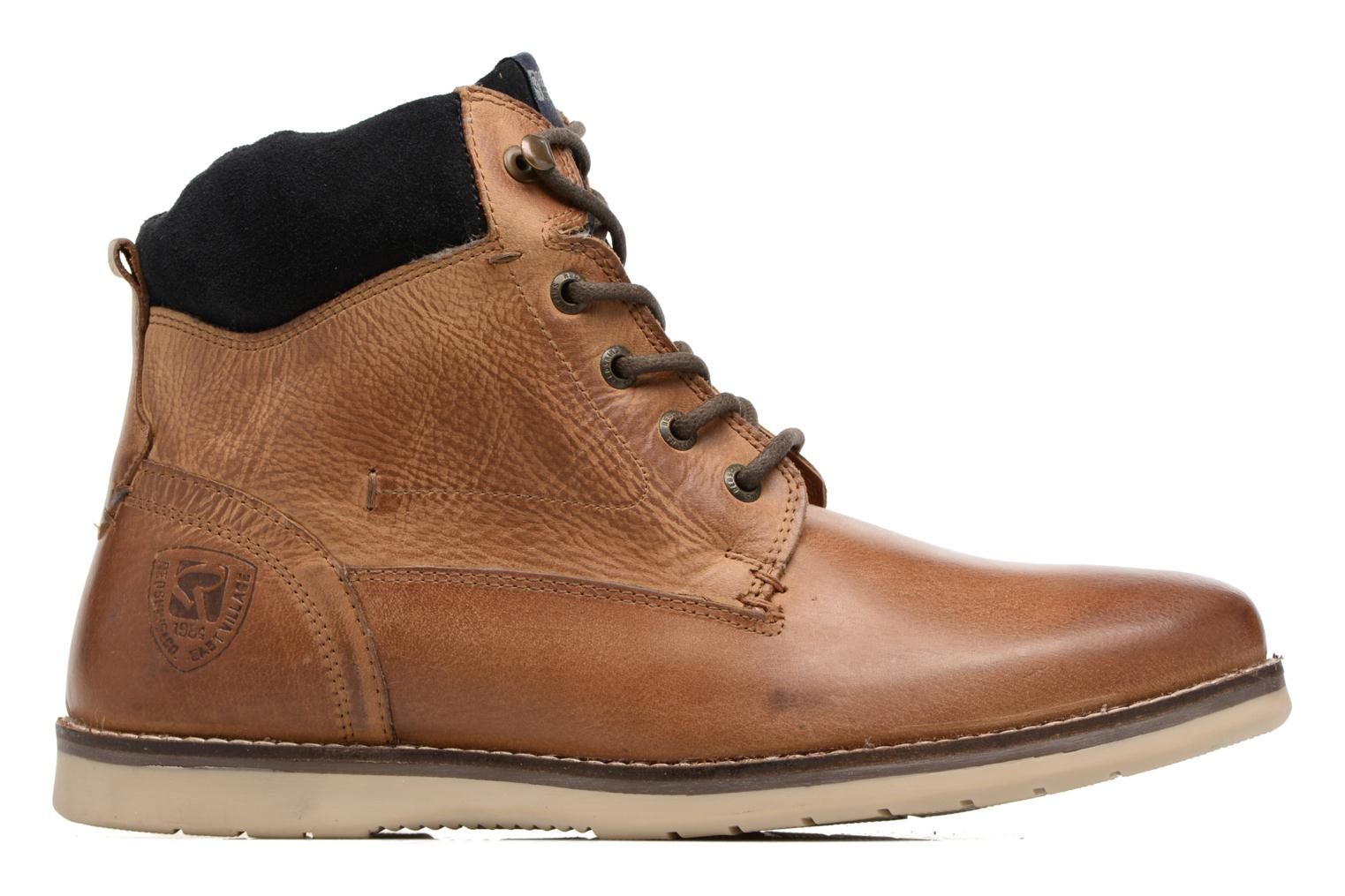 Ankle boots Redskins Batex Brown back view