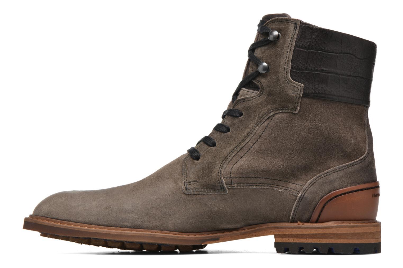 Chaussures à lacets Floris Van Bommel Alban Gris vue face