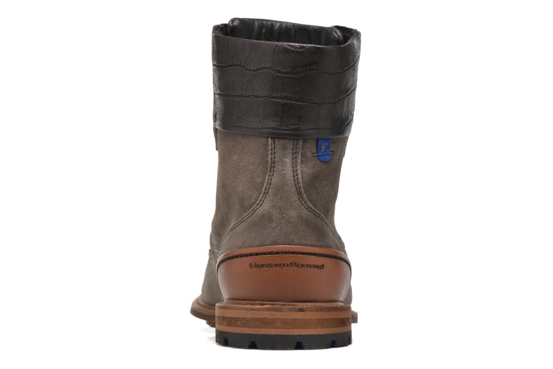 Chaussures à lacets Floris Van Bommel Alban Gris vue droite