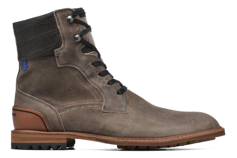 Chaussures à lacets Floris Van Bommel Alban Gris vue derrière