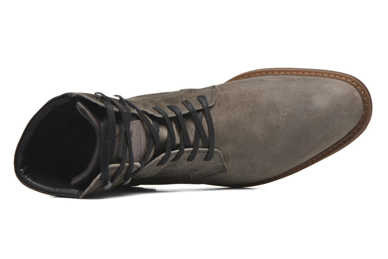 Chaussures à lacets Floris Van Bommel Alban Gris vue gauche
