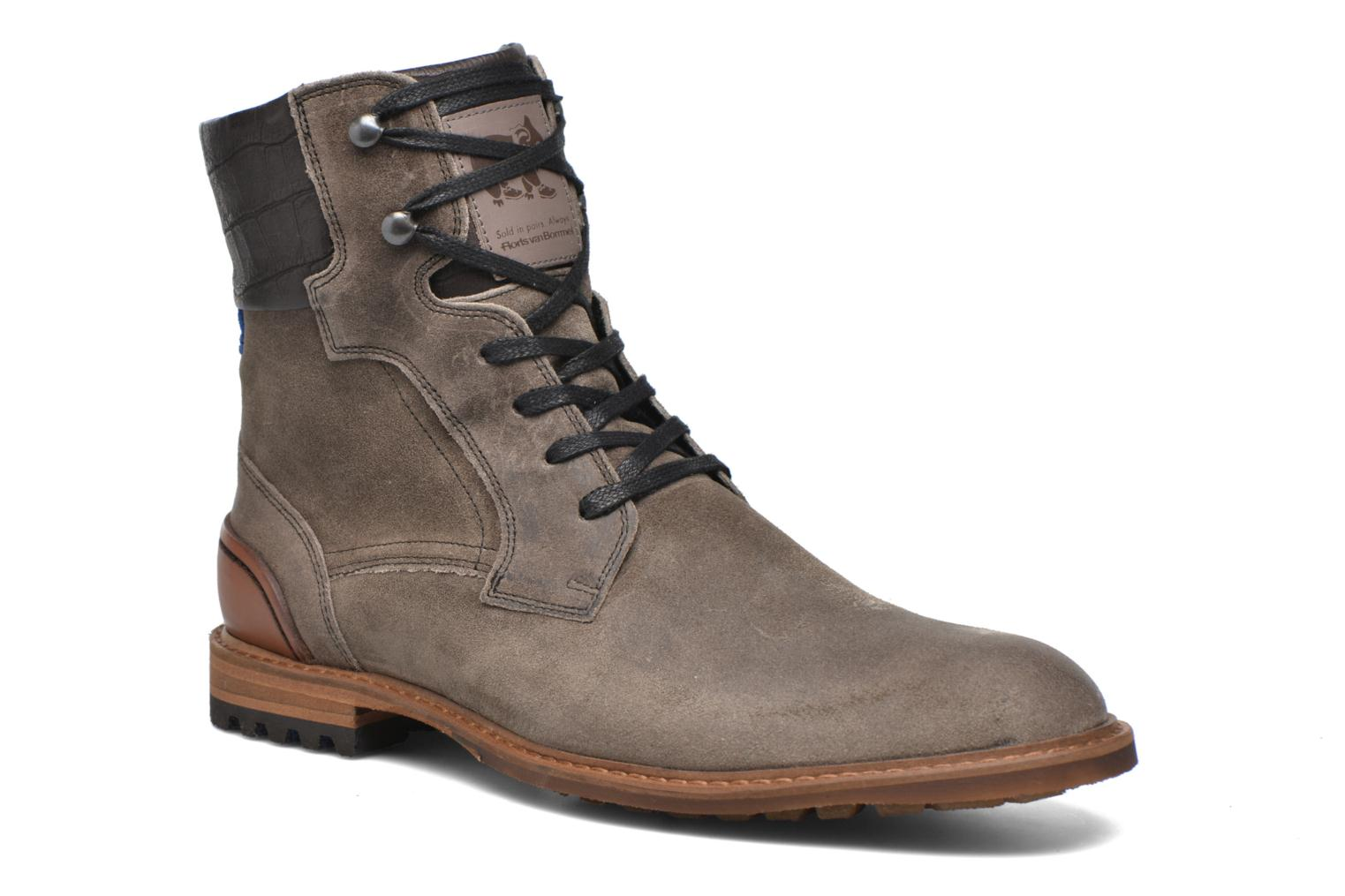 Alban Taupe Suede Combi