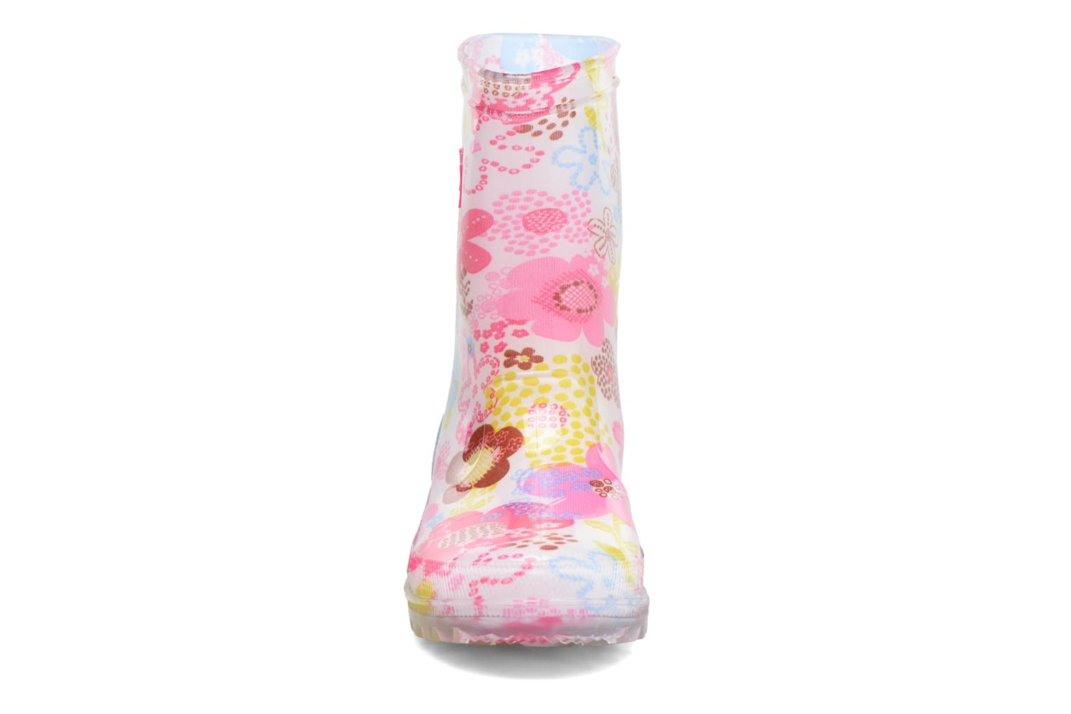 Bottes Be Only Flora Rose vue portées chaussures