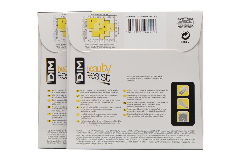 Collant Beauty Resiist transparant Pack de 2 0HZ NOIR