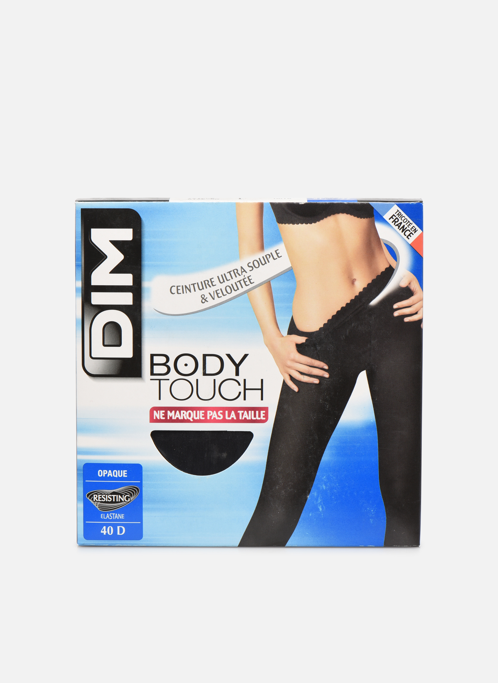 Collant Body Touch Opaque 0HZ NOIR