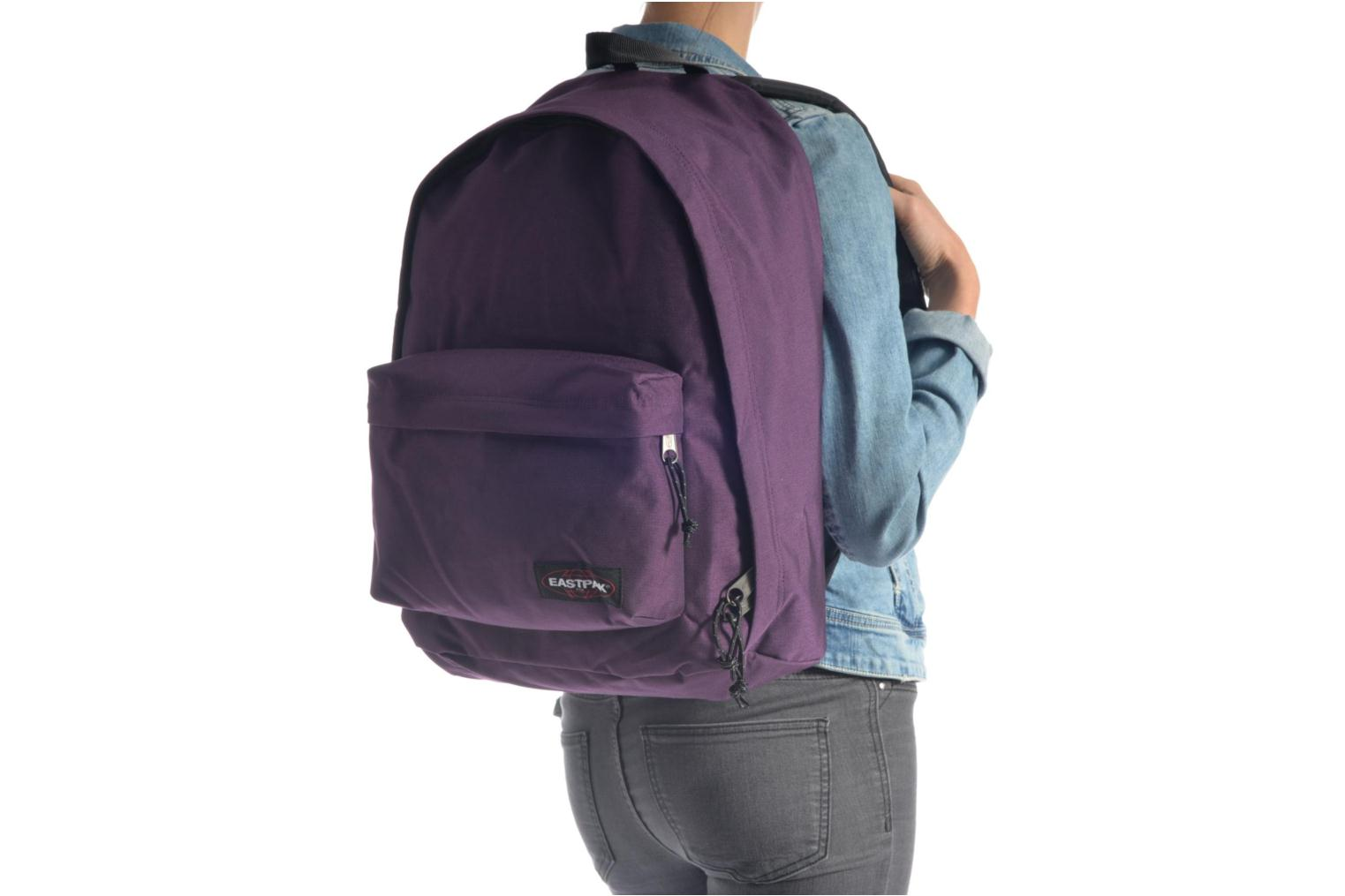 School bags Eastpak OUT OF OFFICE Sac à dos toile Black view from above