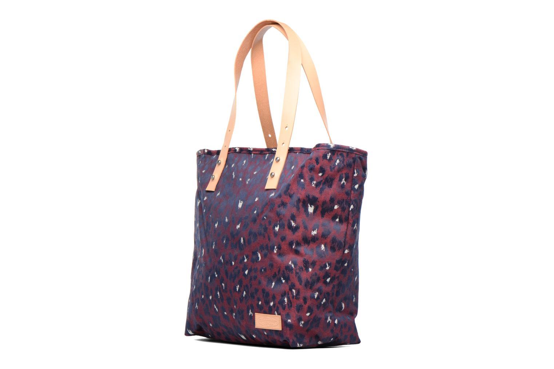 Handbags Eastpak FLASK Cabas Purple model view