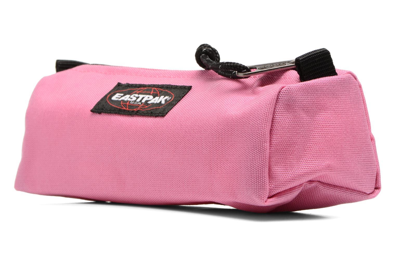 Schulzubehör Eastpak BENCHMARK Trousse rosa schuhe getragen