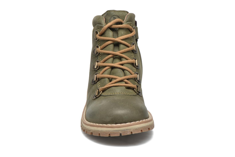 Chaussures à lacets Aigle Cartwell Kid Vert vue portées chaussures
