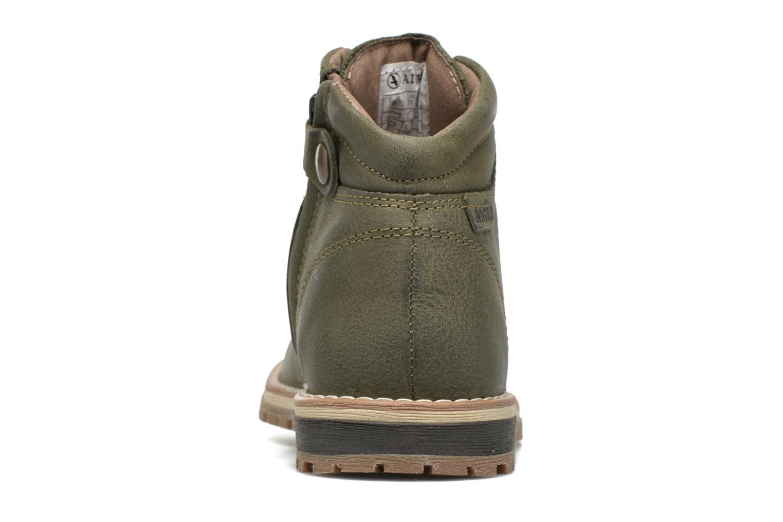 Chaussures à lacets Aigle Cartwell Kid Vert vue droite