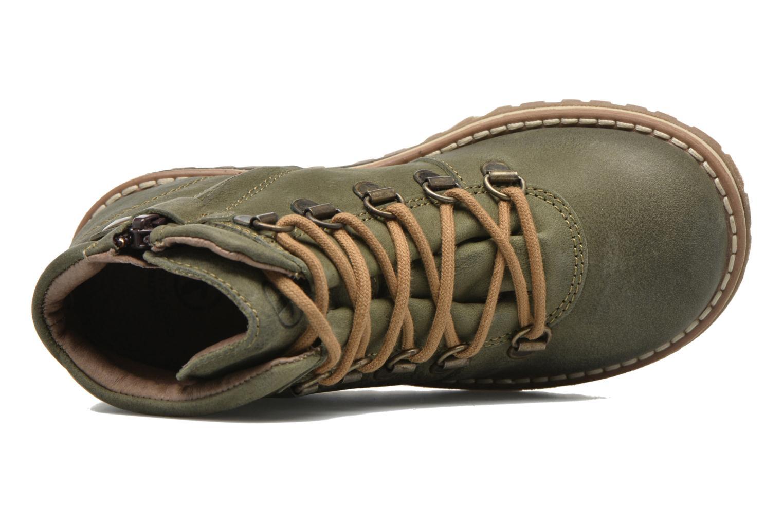 Chaussures à lacets Aigle Cartwell Kid Vert vue gauche