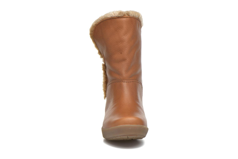 Bottines et boots Panama Jack Madona Marron vue portées chaussures