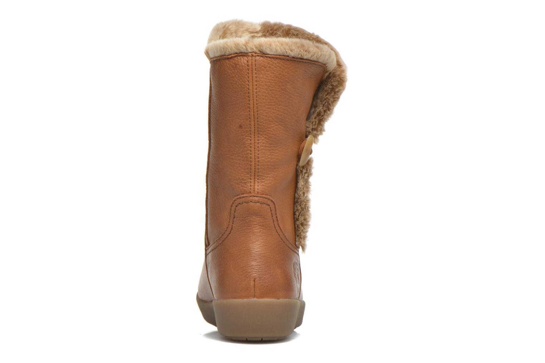Bottines et boots Panama Jack Madona Marron vue droite