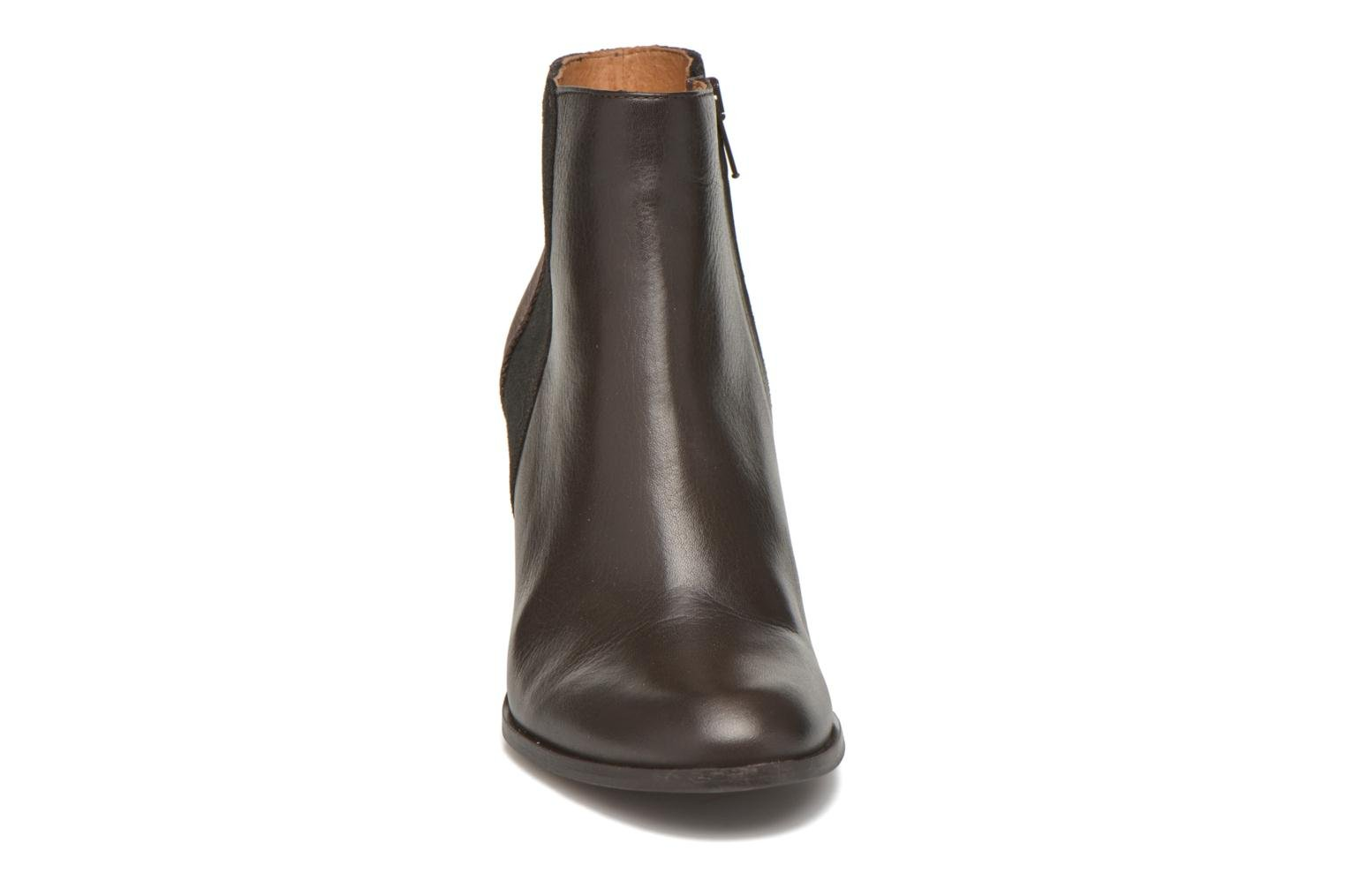 Ankle boots Schmoove Woman Gravity delta Brown model view