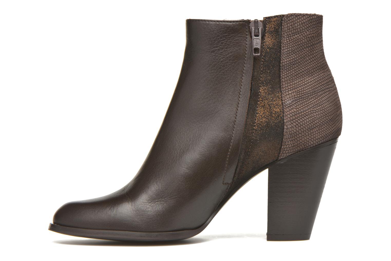 Boots en enkellaarsjes Schmoove Woman Gravity delta Bruin voorkant