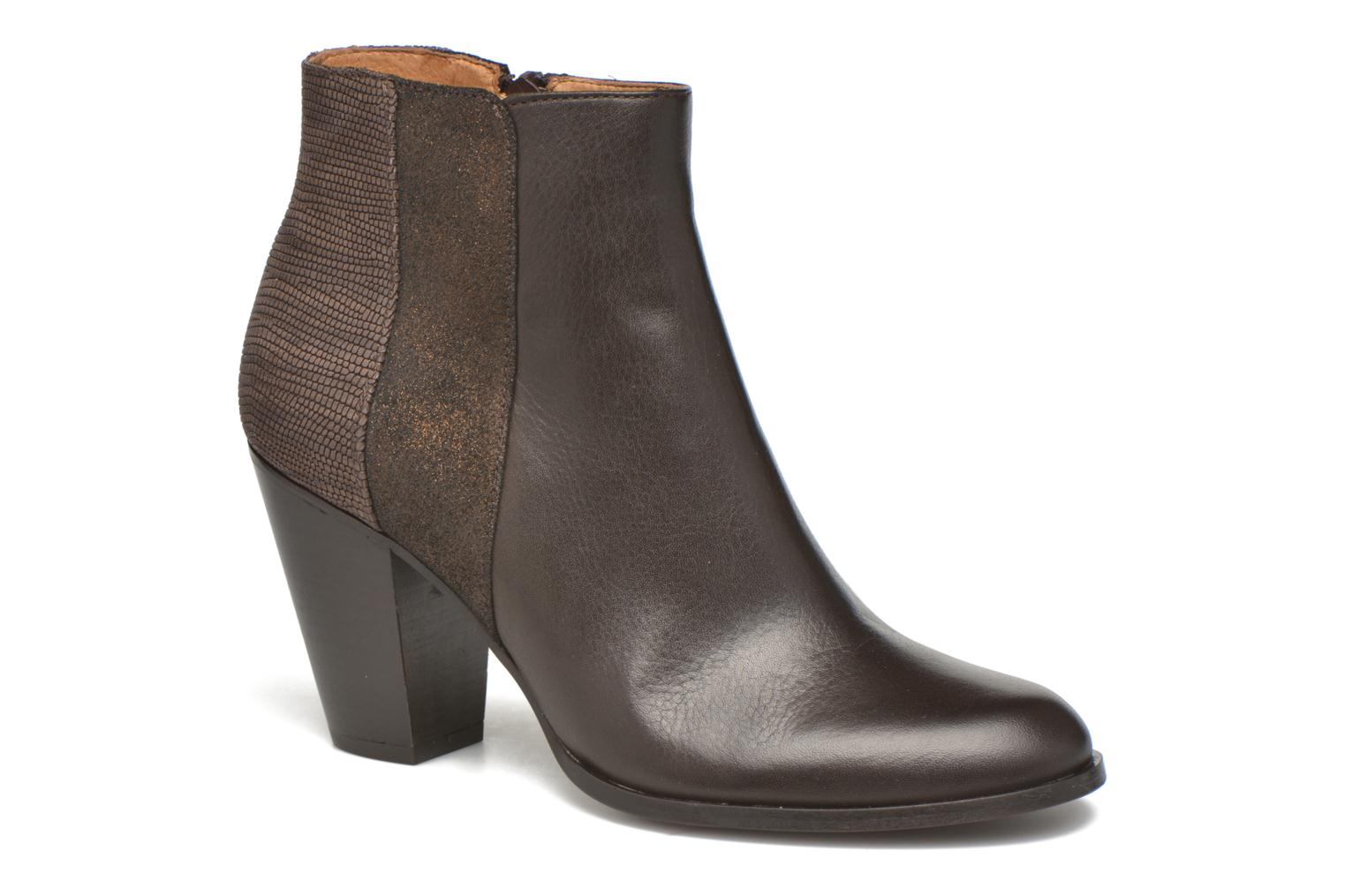 Bottines et boots Schmoove Woman Gravity delta Marron vue détail/paire