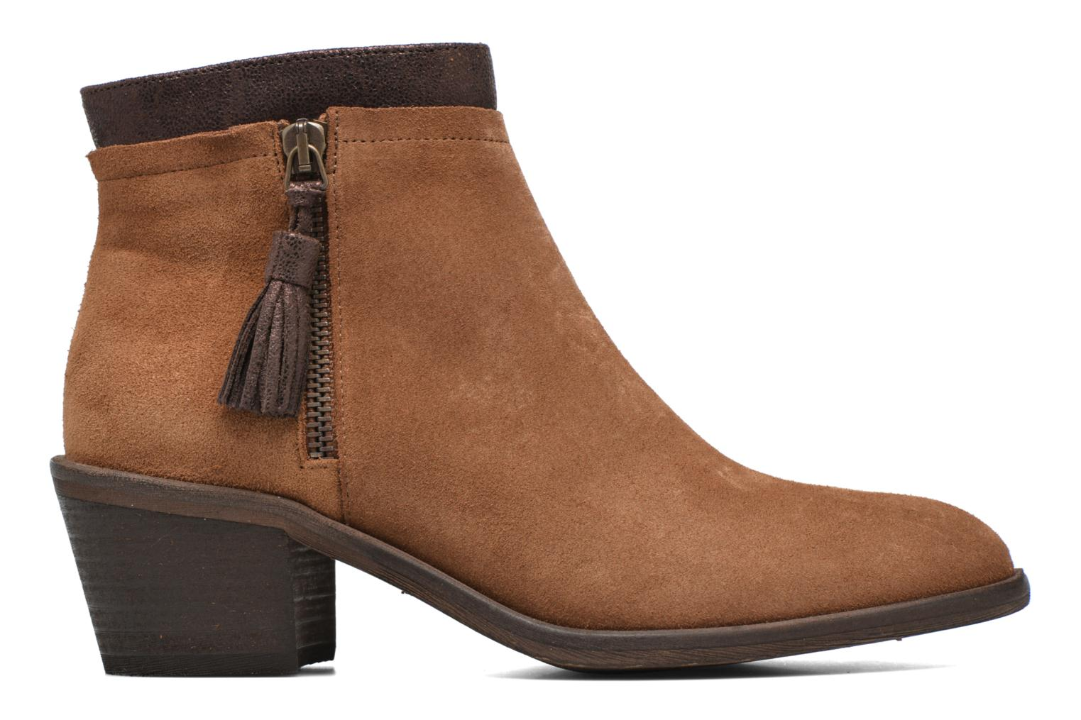 Ankle boots Schmoove Woman Neptune zip boots Brown back view