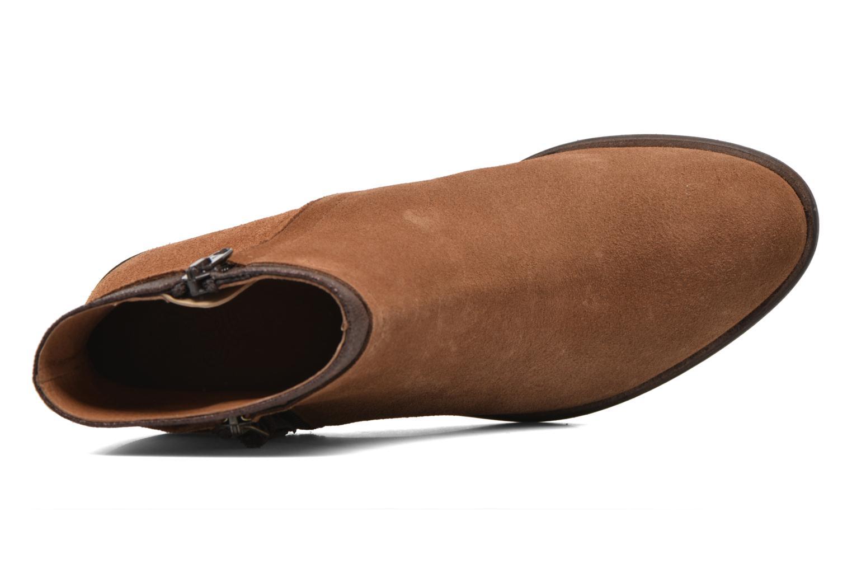 Boots en enkellaarsjes Schmoove Woman Neptune zip boots Bruin links