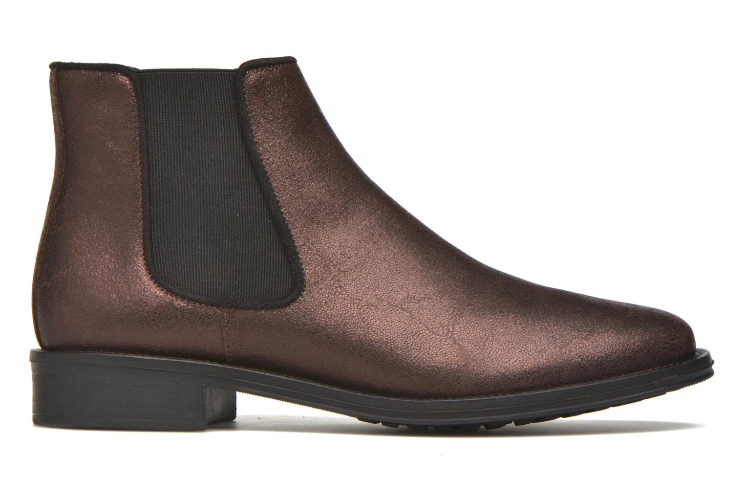 Ankle boots Schmoove Woman Newton chelsea trento Purple back view