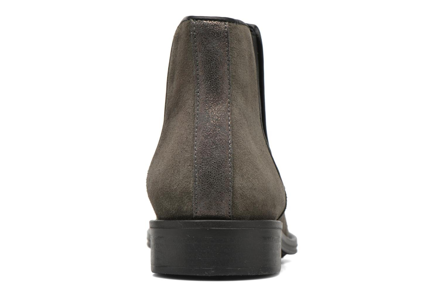 Ankle boots Schmoove Woman Newton chelsea suede Grey view from the right
