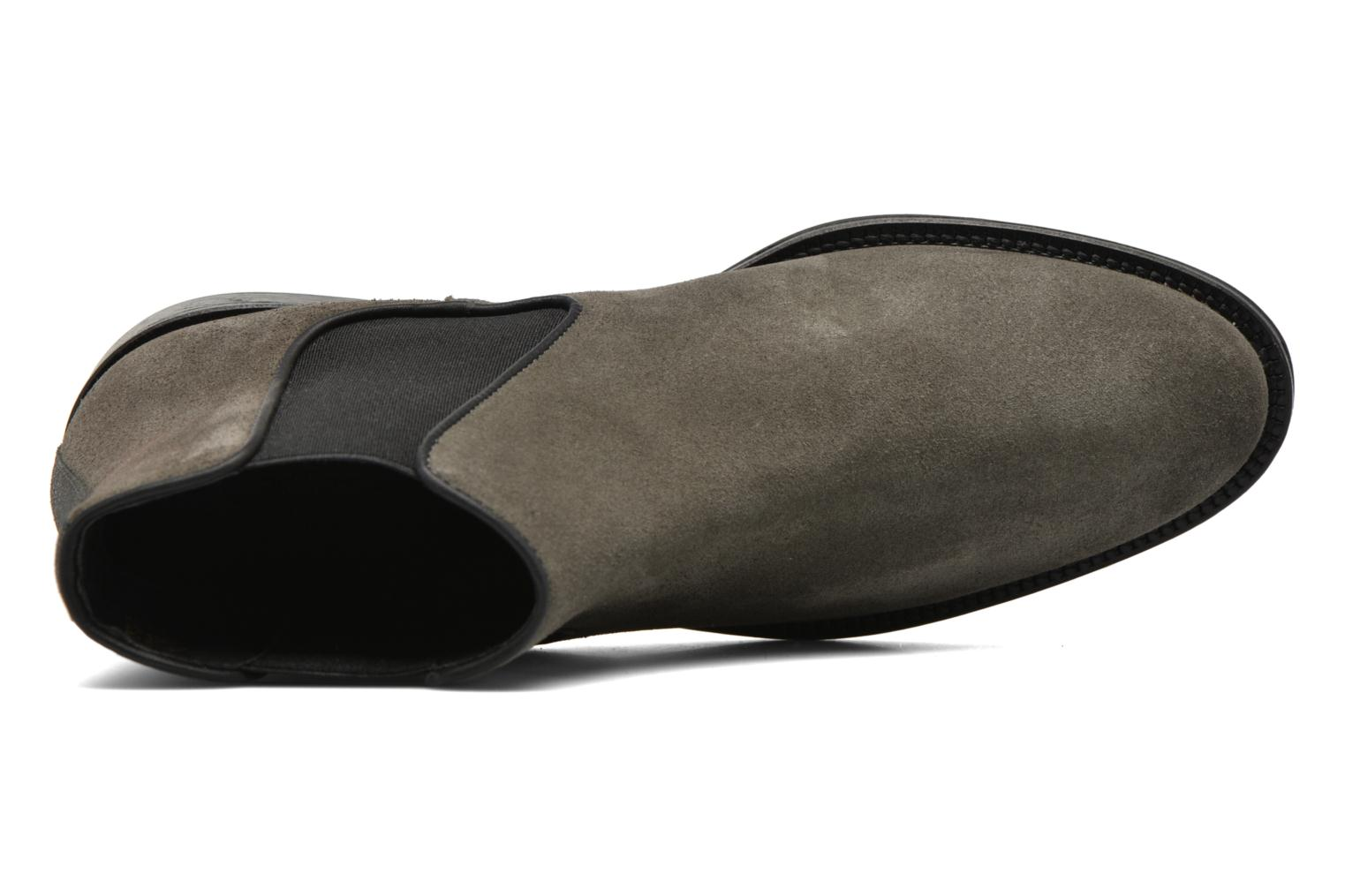 Ankle boots Schmoove Woman Newton chelsea suede Grey view from the left