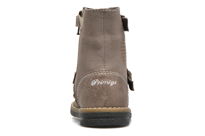 Bottines et boots Primigi Gloria Marron vue droite