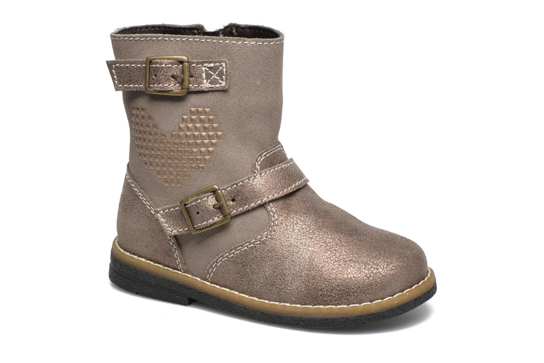Bottines et boots Primigi Gloria Marron vue détail/paire