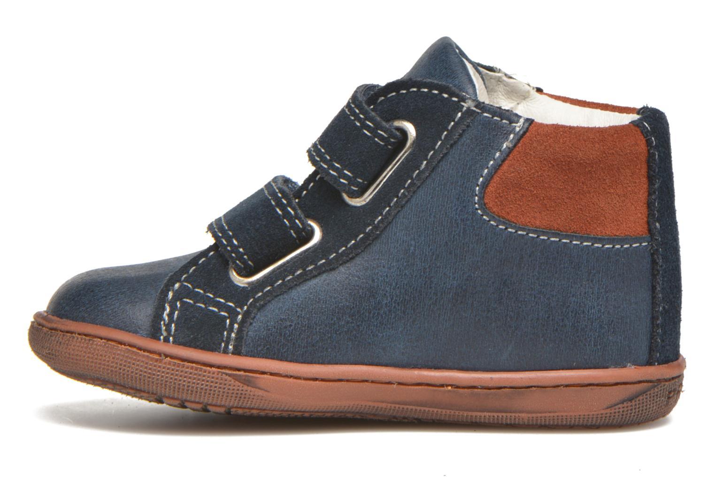Zapatos con velcro Primigi Jordan 1 Azul vista de frente
