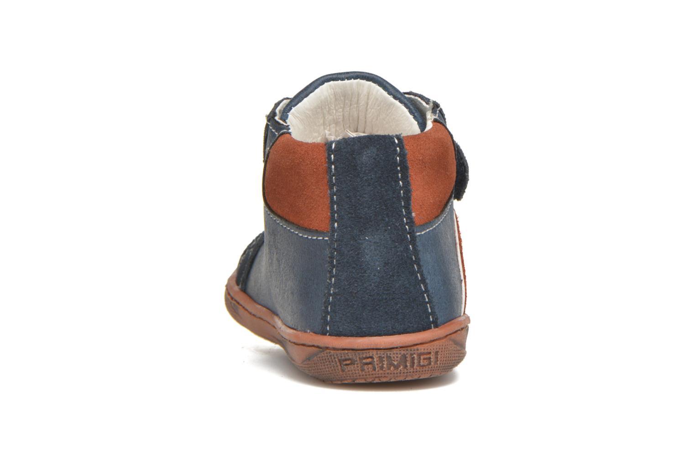 Zapatos con velcro Primigi Jordan 1 Azul vista lateral derecha