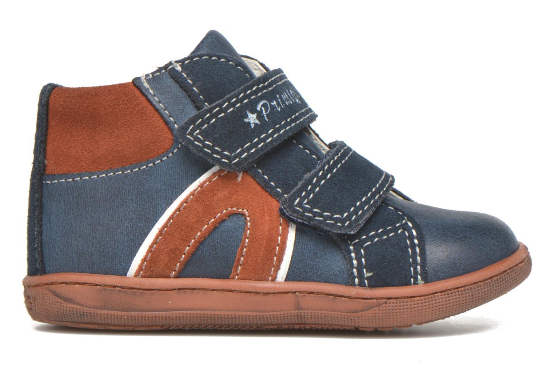 Zapatos con velcro Primigi Jordan 1 Azul vistra trasera