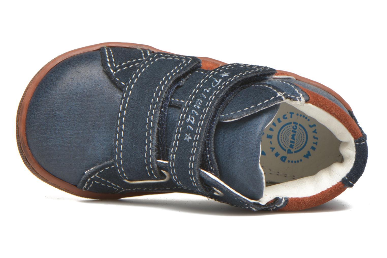 Chaussures à scratch Primigi Jordan 1 Bleu vue gauche