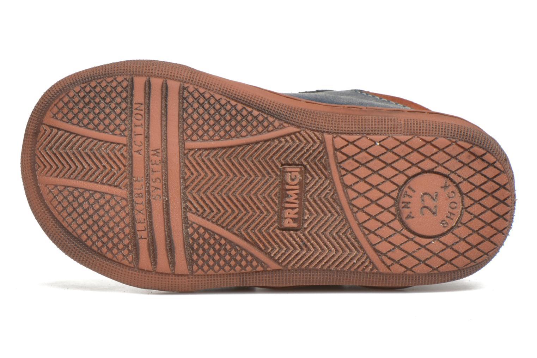 Chaussures à scratch Primigi Jordan 1 Bleu vue haut