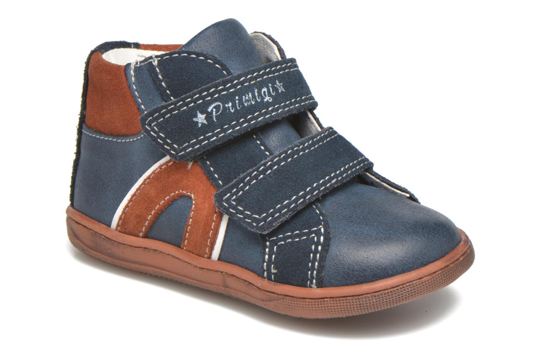 Zapatos con velcro Primigi Jordan 1 Azul vista de detalle / par