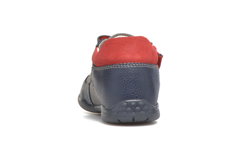 Zapatos con velcro Primigi Jesse Gris vista lateral derecha