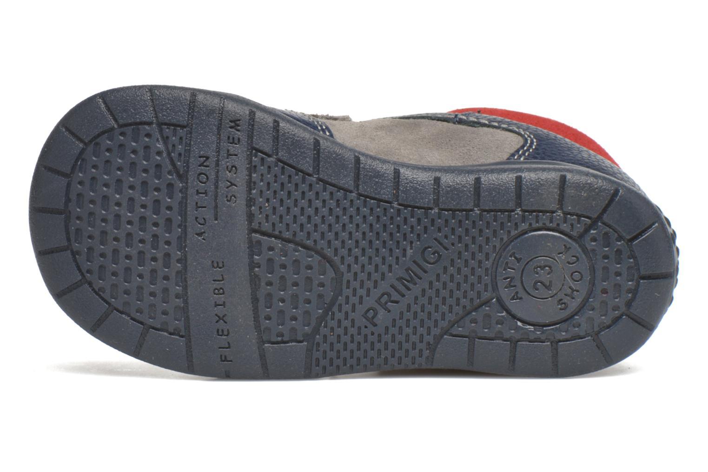 Zapatos con velcro Primigi Jesse Gris vista de arriba