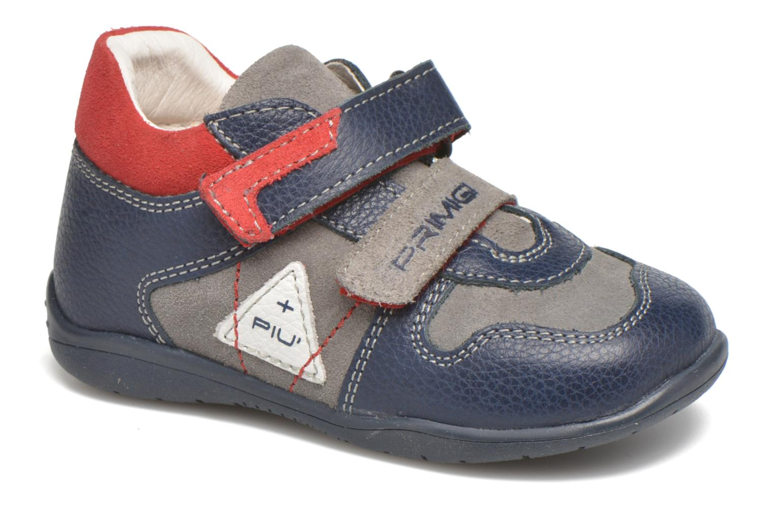 Velcro shoes Primigi Jesse Grey detailed view/ Pair view