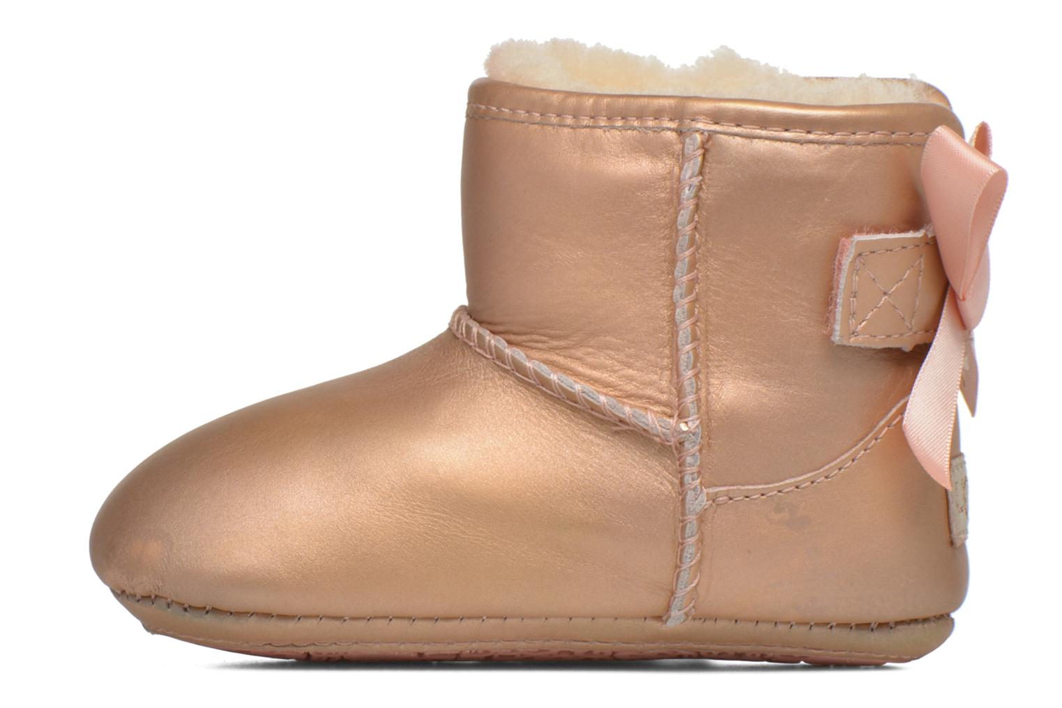 Chaussons UGG I Jesse bow metallic Rose vue face