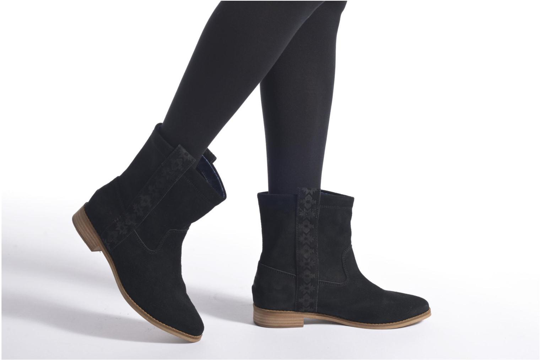 Laurel pull-on boot Castlerock Grey Suede Tribal