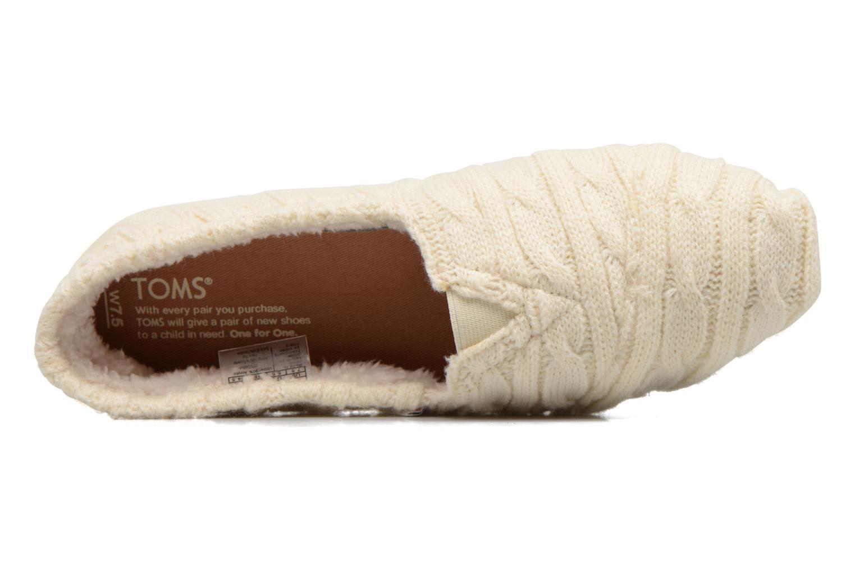 Mocassins TOMS Seasonal classics knit Wit links