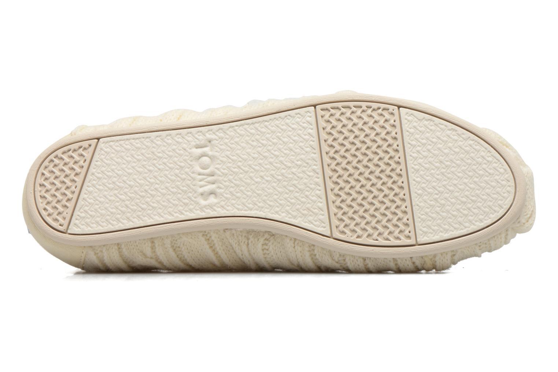 Mocassins TOMS Seasonal classics knit Wit boven